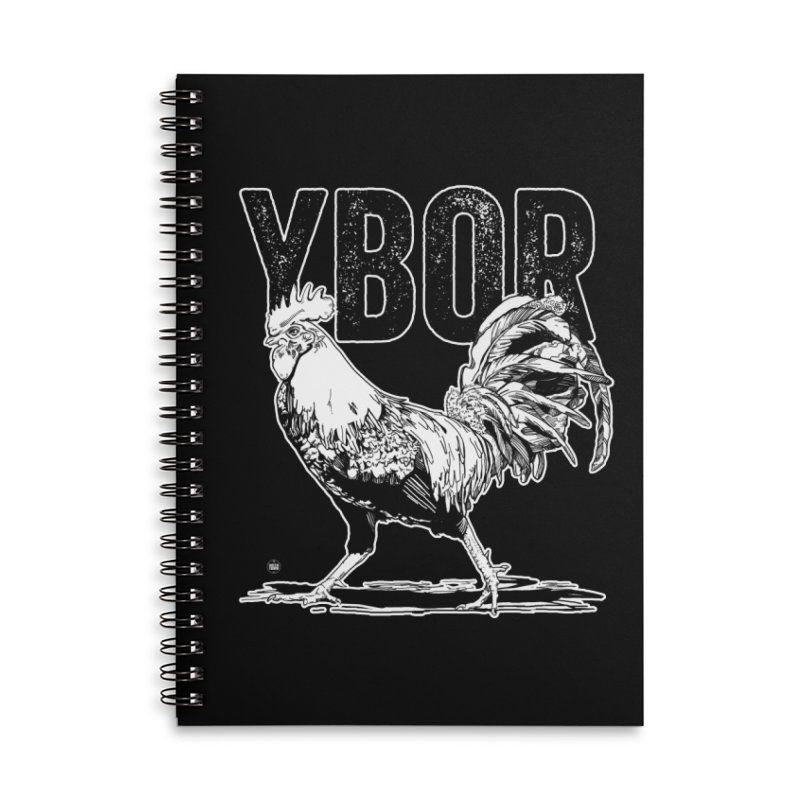 YBOR Accessories Lined Spiral Notebook by thatssotampa's Artist Shop
