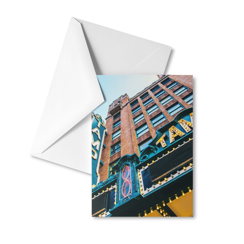 The Tampa Theatre Accessories Greeting Card by thatssotampa's Artist Shop
