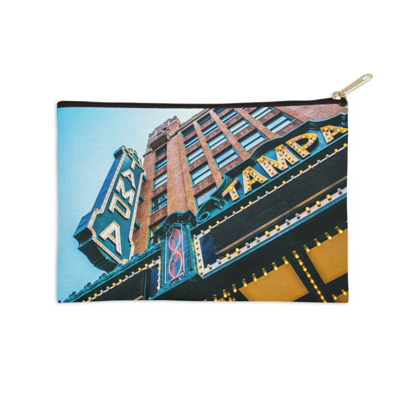 The Tampa Theatre Accessories Zip Pouch by thatssotampa's Artist Shop