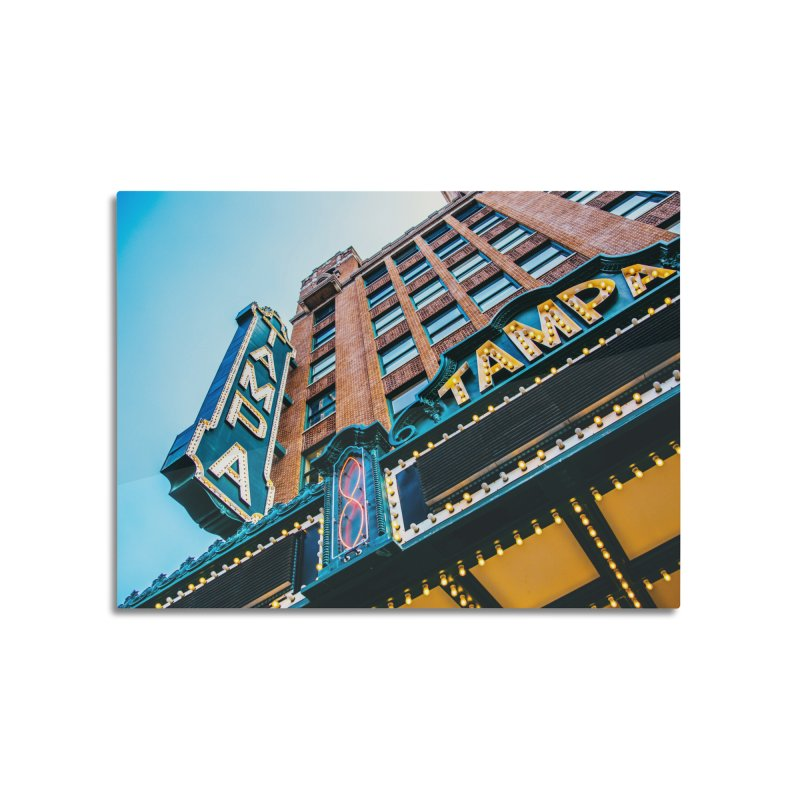 The Tampa Theatre Home Mounted Aluminum Print by thatssotampa's Artist Shop
