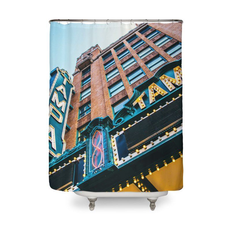 The Tampa Theatre Home Shower Curtain by thatssotampa's Artist Shop