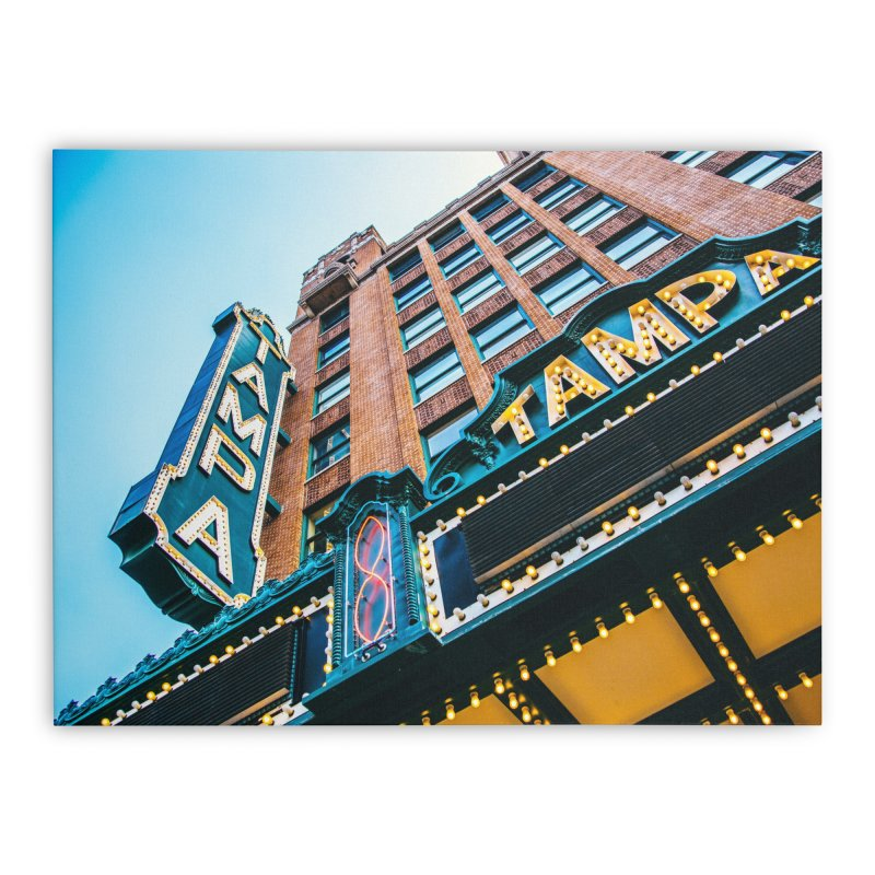 The Tampa Theatre Home Stretched Canvas by thatssotampa's Artist Shop