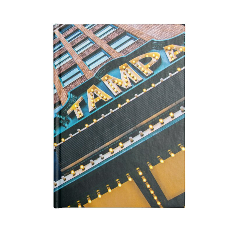 The Tampa Theatre Accessories Lined Journal Notebook by thatssotampa's Artist Shop