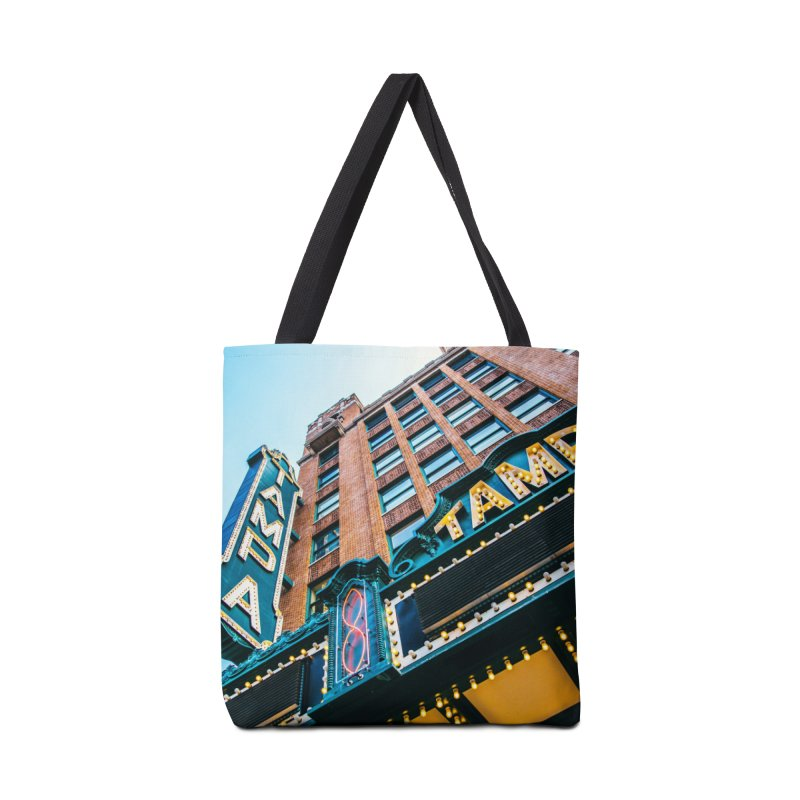 The Tampa Theatre Accessories Tote Bag Bag by thatssotampa's Artist Shop