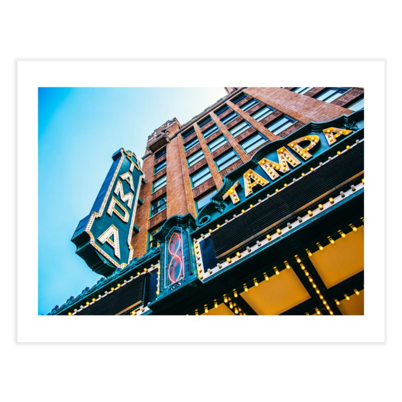 The Tampa Theatre Home Fine Art Print by thatssotampa's Artist Shop