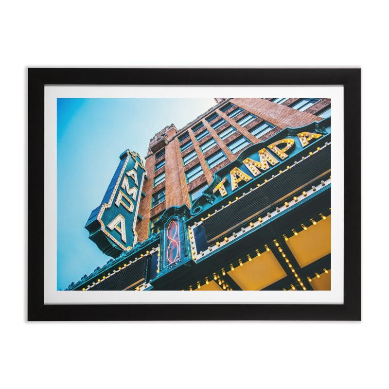 The Tampa Theatre Home Framed Fine Art Print by thatssotampa's Artist Shop