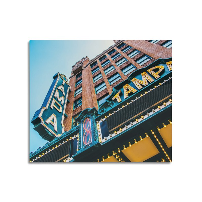 The Tampa Theatre Home Mounted Acrylic Print by thatssotampa's Artist Shop