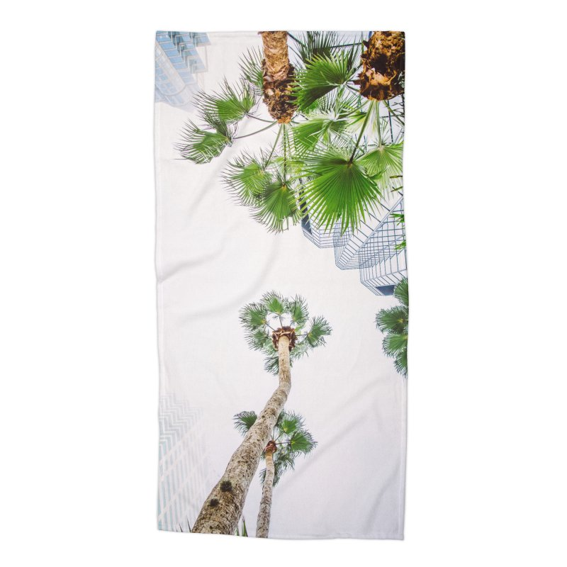 TAMPA | LOOK UP Accessories Beach Towel by thatssotampa's Artist Shop