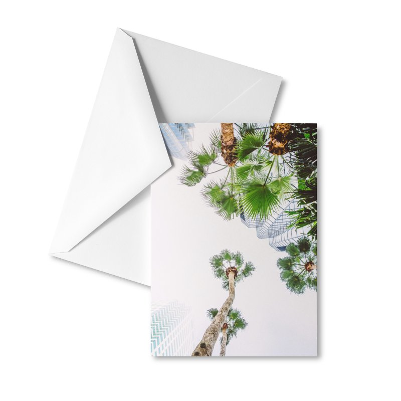 TAMPA | LOOK UP Accessories Greeting Card by thatssotampa's Artist Shop