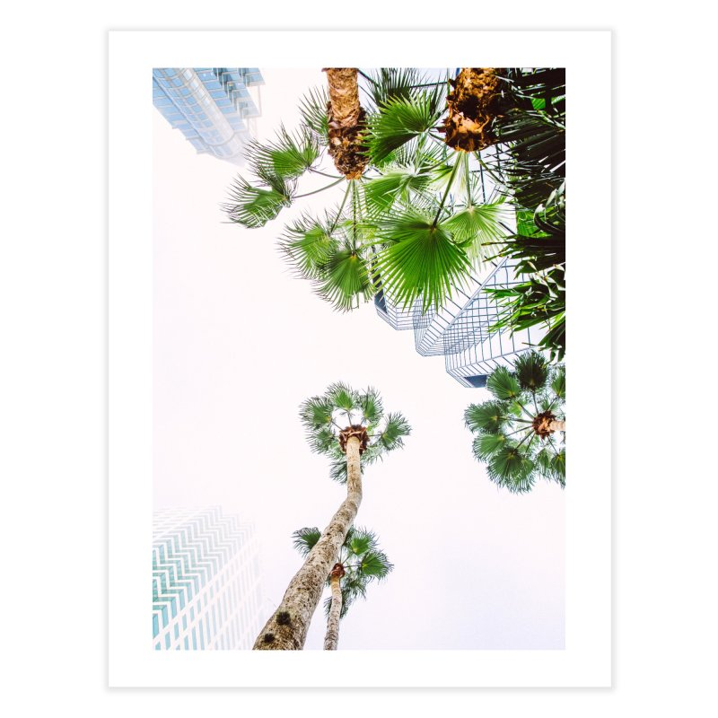 TAMPA   LOOK UP Home Fine Art Print by thatssotampa's Artist Shop