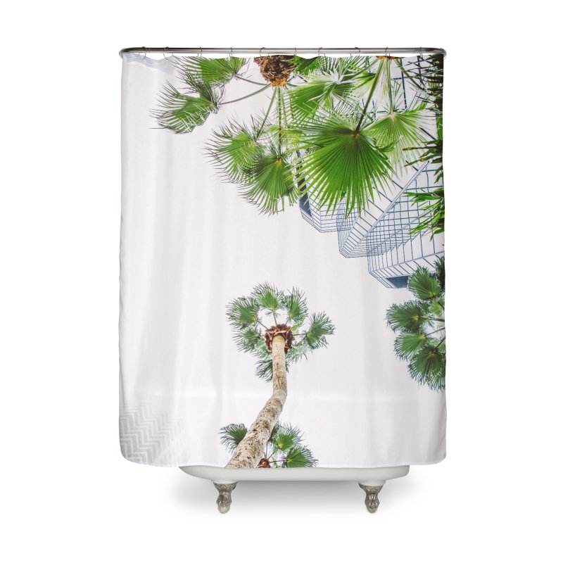 TAMPA | LOOK UP Home Shower Curtain by thatssotampa's Artist Shop