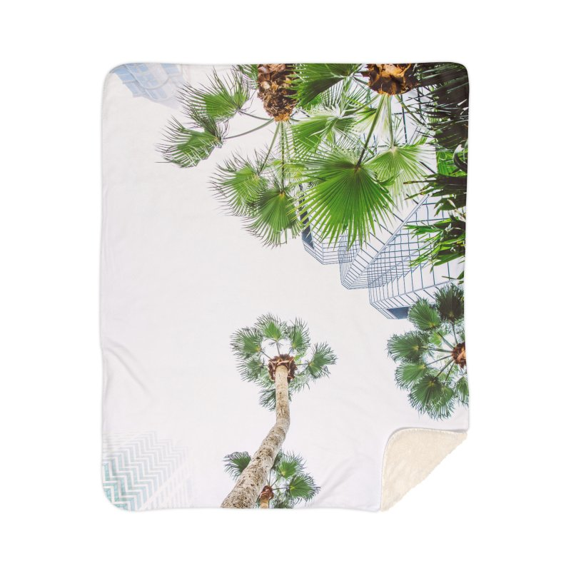 TAMPA | LOOK UP Home Sherpa Blanket Blanket by thatssotampa's Artist Shop