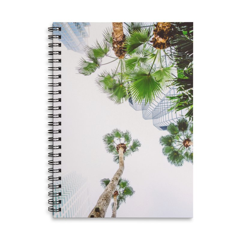 TAMPA | LOOK UP Accessories Lined Spiral Notebook by thatssotampa's Artist Shop