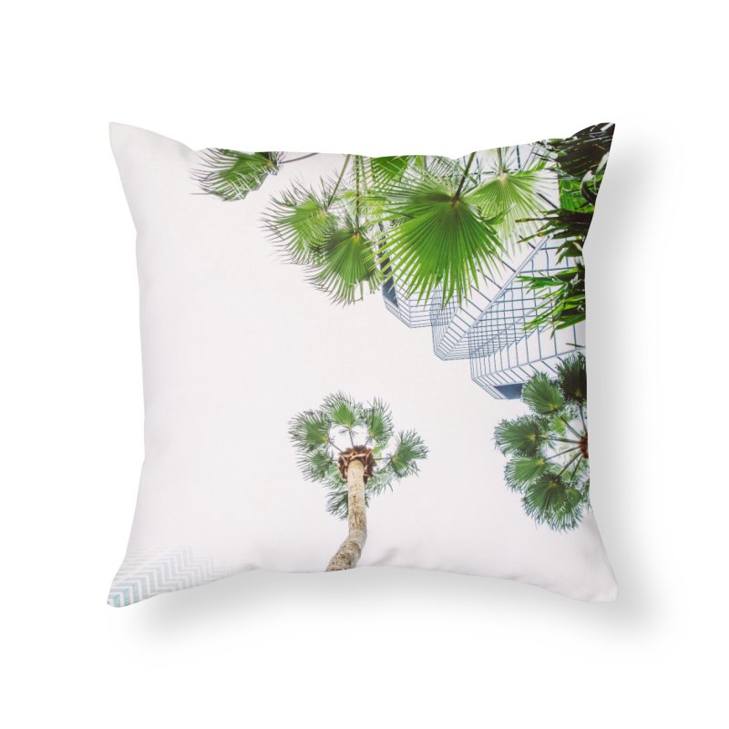 TAMPA | LOOK UP Home Throw Pillow by thatssotampa's Artist Shop