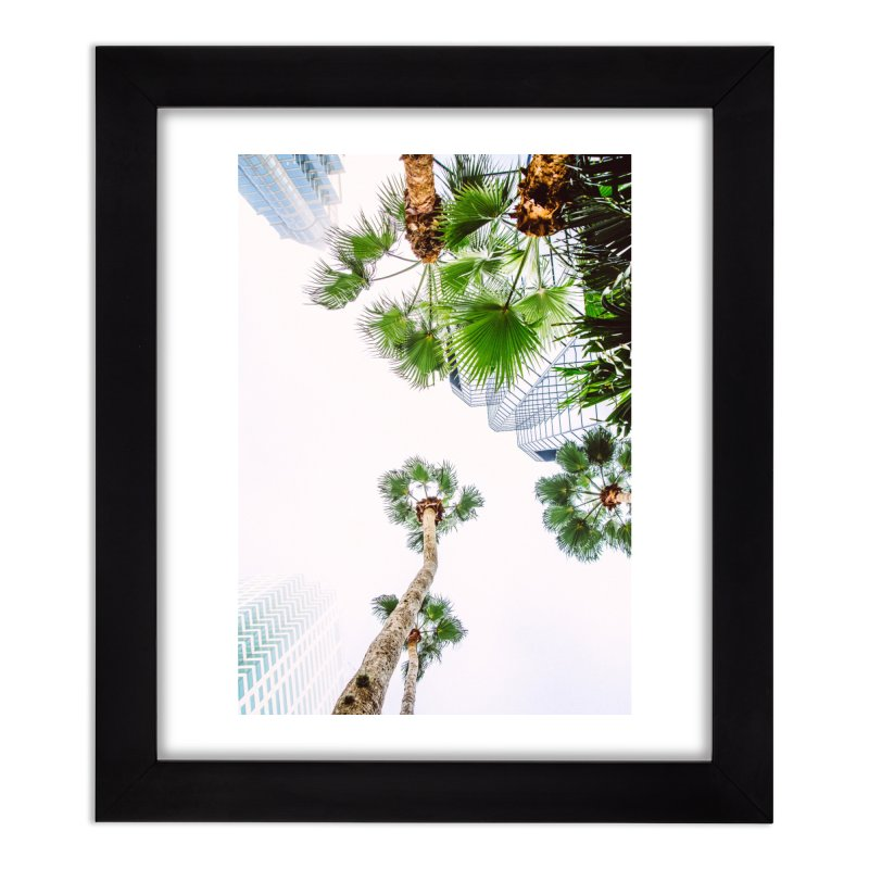 TAMPA   LOOK UP Home Framed Fine Art Print by thatssotampa's Artist Shop