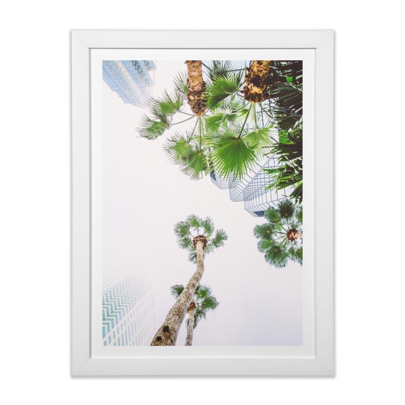 TAMPA | LOOK UP Home Framed Fine Art Print by thatssotampa's Artist Shop