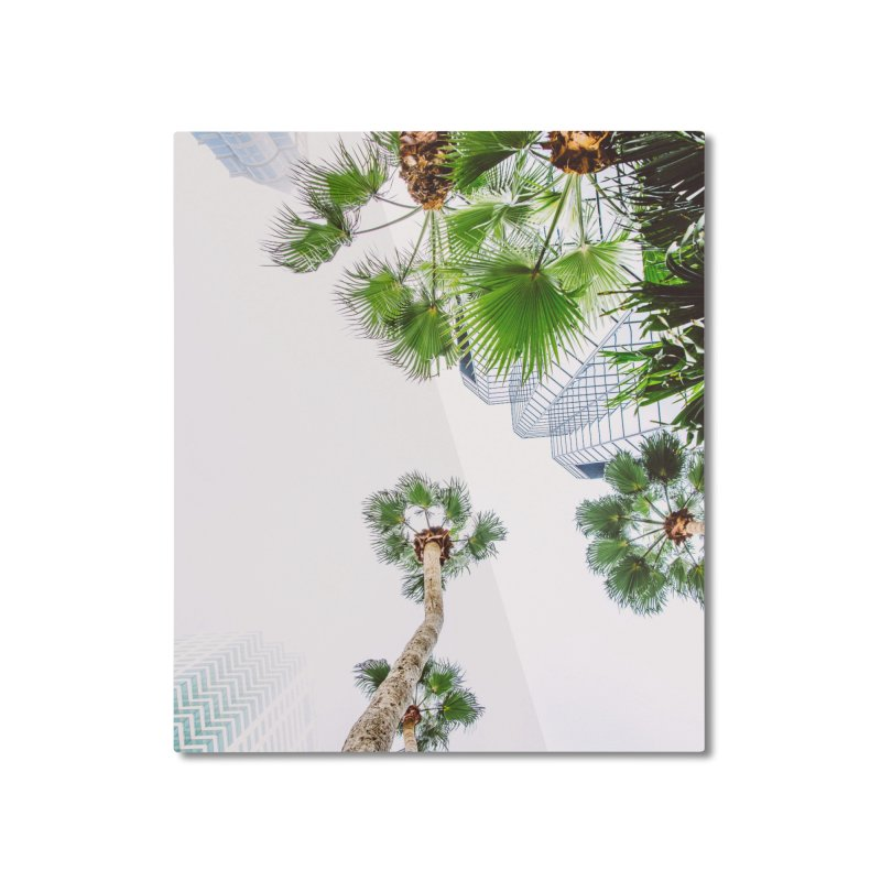 TAMPA | LOOK UP Home Mounted Aluminum Print by thatssotampa's Artist Shop