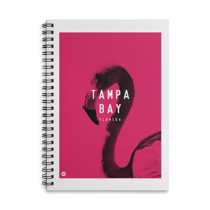TAMPA BAY | FLamingo Accessories Notebook by thatssotampa's Artist Shop