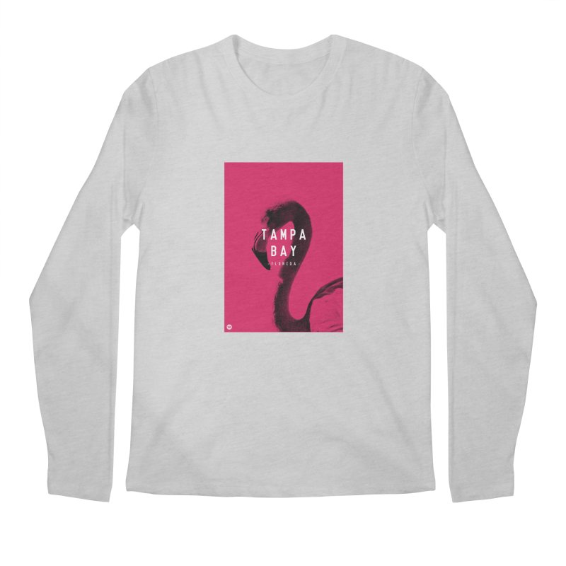 TAMPA BAY | FLamingo Men's Longsleeve T-Shirt by thatssotampa's Artist Shop
