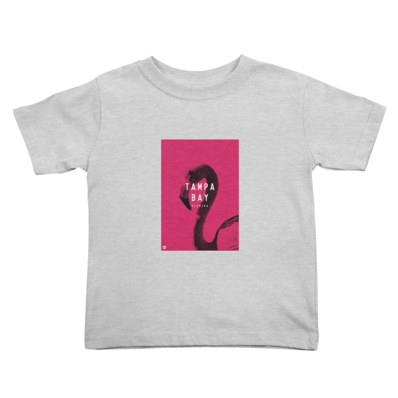 TAMPA BAY | FLamingo Kids Toddler T-Shirt by thatssotampa's Artist Shop