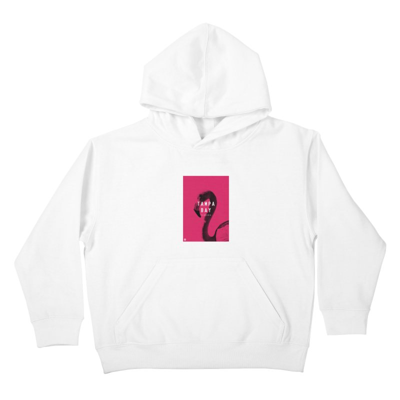 TAMPA BAY | FLamingo Kids Pullover Hoody by thatssotampa's Artist Shop