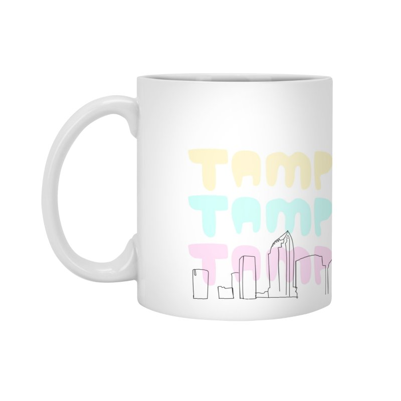 A TAMPA SKYLINE Accessories Standard Mug by thatssotampa's Artist Shop