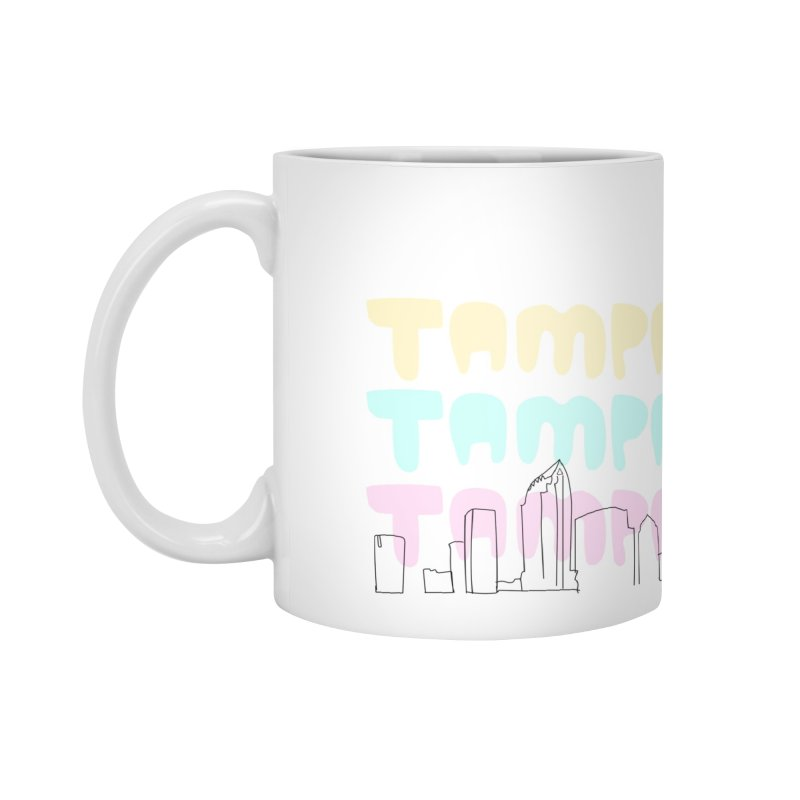 A TAMPA SKYLINE Accessories Mug by thatssotampa's Artist Shop
