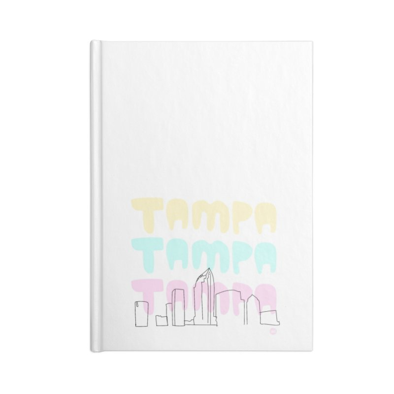 A TAMPA SKYLINE Accessories Blank Journal Notebook by thatssotampa's Artist Shop