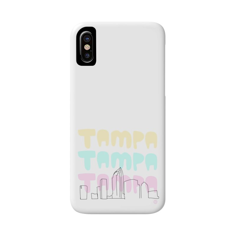 A TAMPA SKYLINE Accessories Phone Case by thatssotampa's Artist Shop