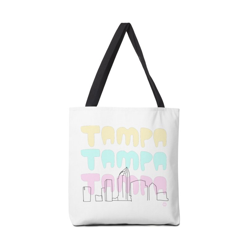 A TAMPA SKYLINE Accessories Bag by thatssotampa's Artist Shop