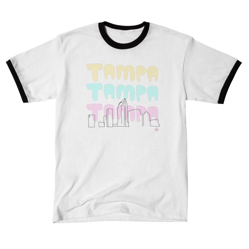 A TAMPA SKYLINE Men's T-Shirt by thatssotampa's Artist Shop