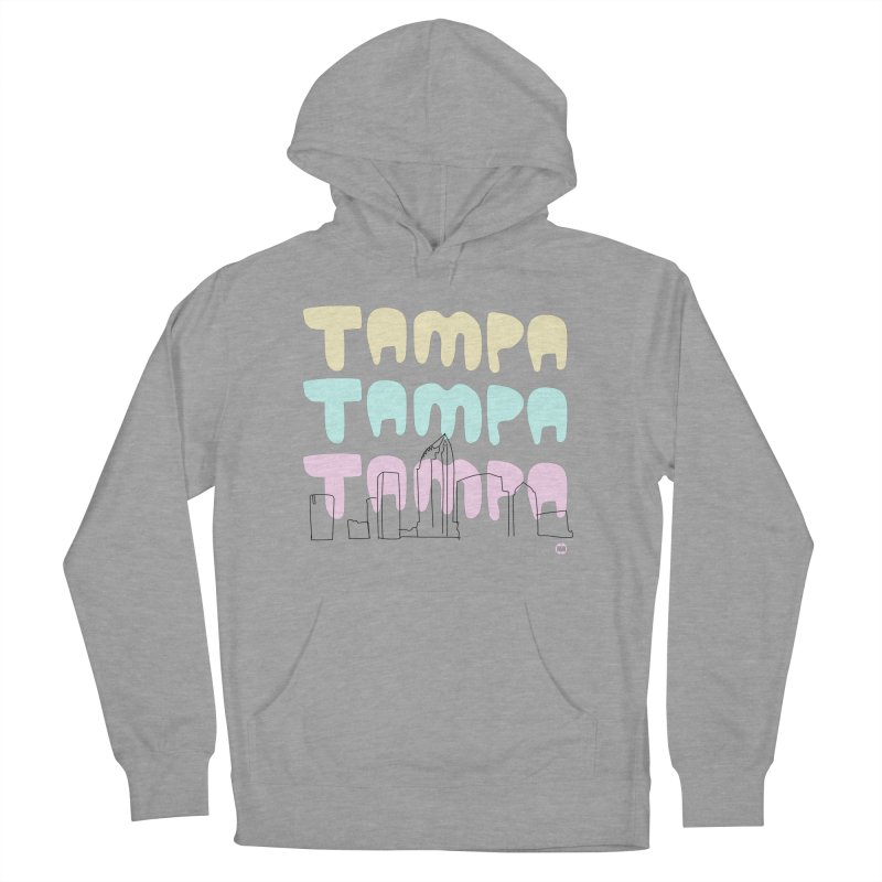 A TAMPA SKYLINE Women's French Terry Pullover Hoody by thatssotampa's Artist Shop