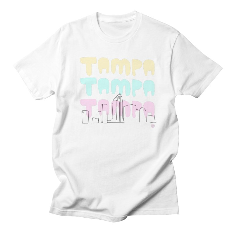 A TAMPA SKYLINE Women's Regular Unisex T-Shirt by thatssotampa's Artist Shop
