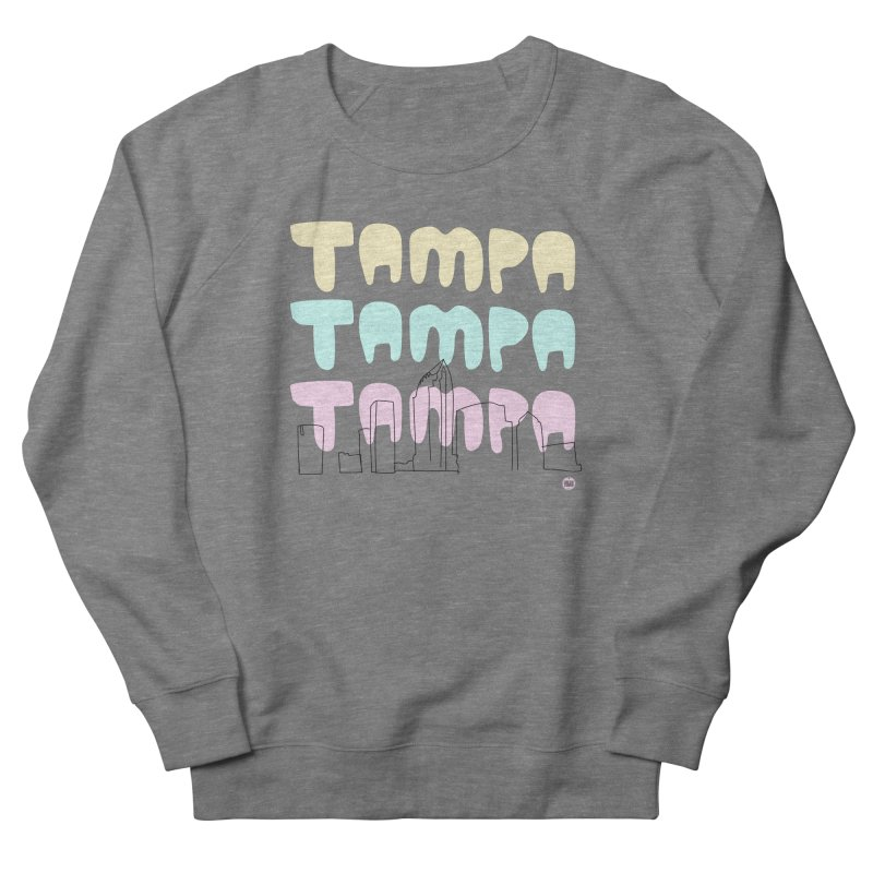 A TAMPA SKYLINE Women's French Terry Sweatshirt by thatssotampa's Artist Shop