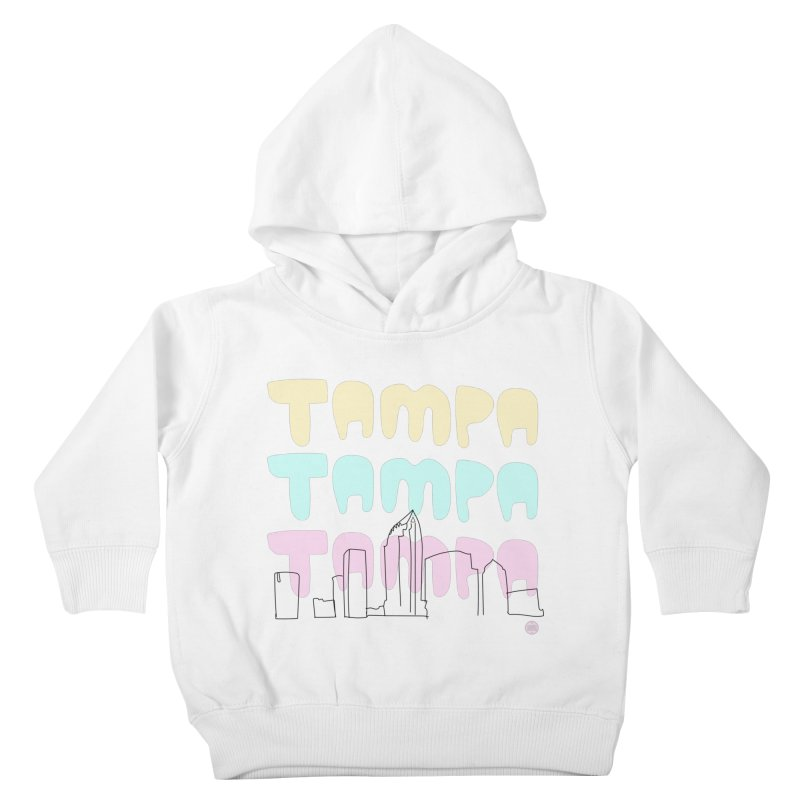 A TAMPA SKYLINE Kids Toddler Pullover Hoody by thatssotampa's Artist Shop