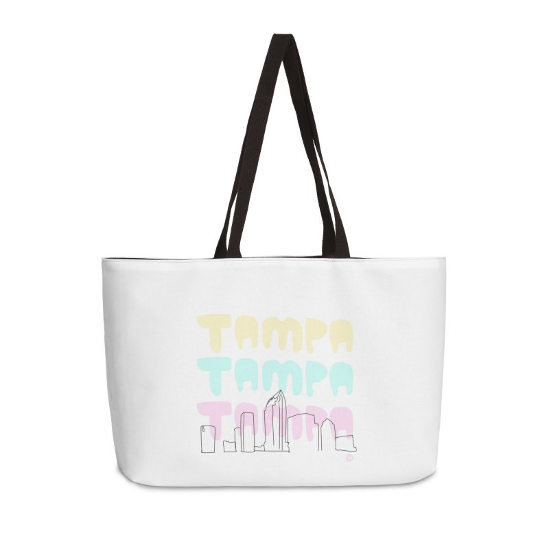 A TAMPA SKYLINE Accessories Weekender Bag Bag by thatssotampa's Artist Shop