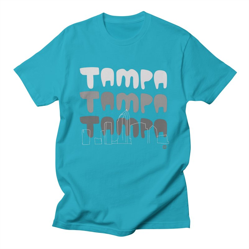 A TAMPA SKYLINE   GRAYSCALE Women's T-Shirt by thatssotampa's Artist Shop