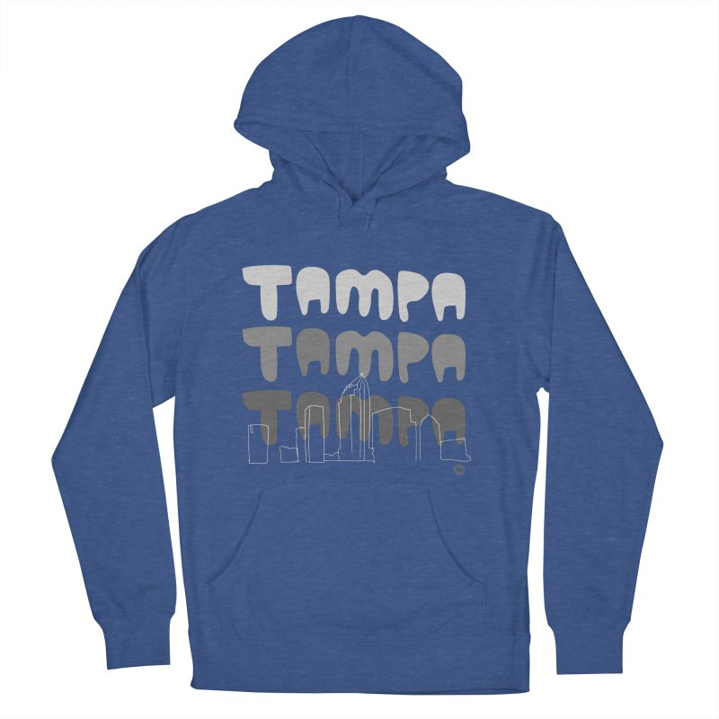 A TAMPA SKYLINE | GRAYSCALE Women's Pullover Hoody by thatssotampa's Artist Shop