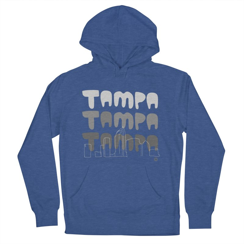 A TAMPA SKYLINE | GRAYSCALE Women's French Terry Pullover Hoody by thatssotampa's Artist Shop