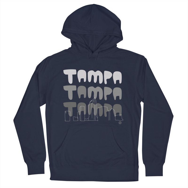 A TAMPA SKYLINE | GRAYSCALE Men's Pullover Hoody by thatssotampa's Artist Shop