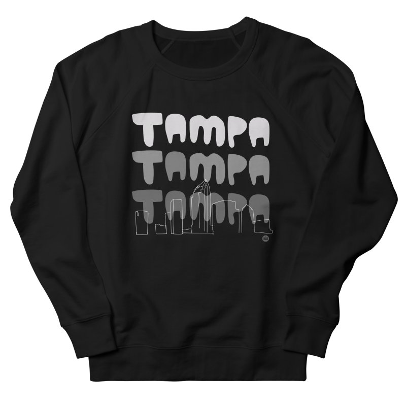 A TAMPA SKYLINE | GRAYSCALE Women's Sweatshirt by thatssotampa's Artist Shop