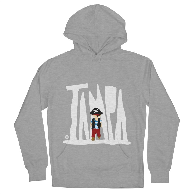 The Tampa Pirate Women's French Terry Pullover Hoody by thatssotampa's Artist Shop