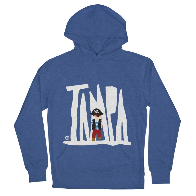 The Tampa Pirate Men's French Terry Pullover Hoody by thatssotampa's Artist Shop