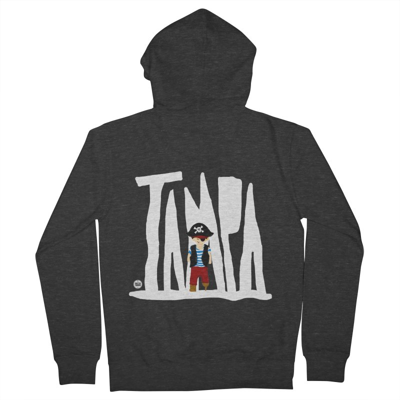 The Tampa Pirate Women's French Terry Zip-Up Hoody by thatssotampa's Artist Shop