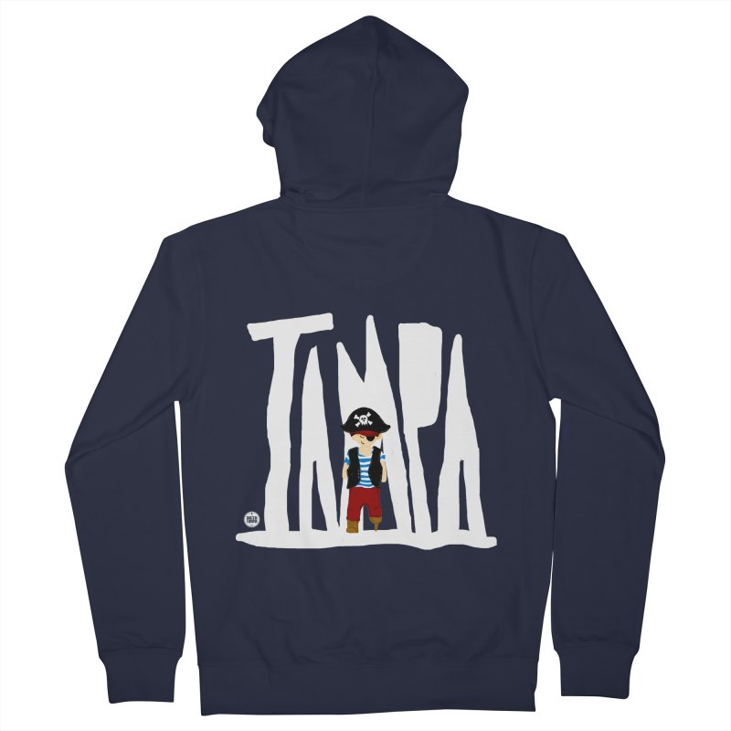 The Tampa Pirate Women's Zip-Up Hoody by thatssotampa's Artist Shop