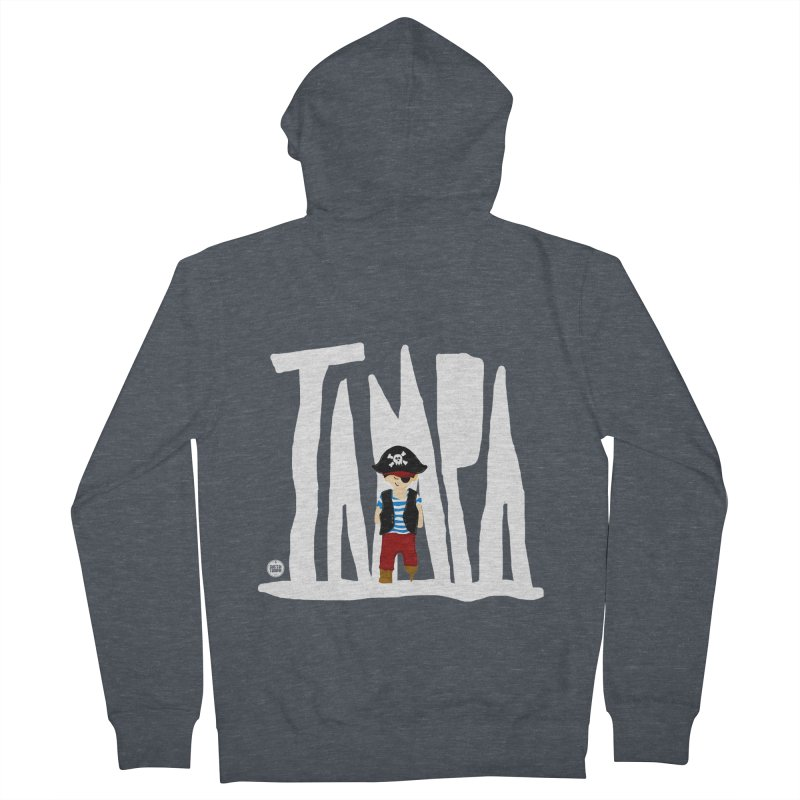 The Tampa Pirate Men's Zip-Up Hoody by thatssotampa's Artist Shop