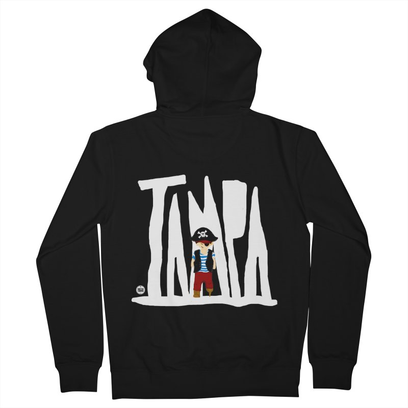 The Tampa Pirate Men's French Terry Zip-Up Hoody by thatssotampa's Artist Shop