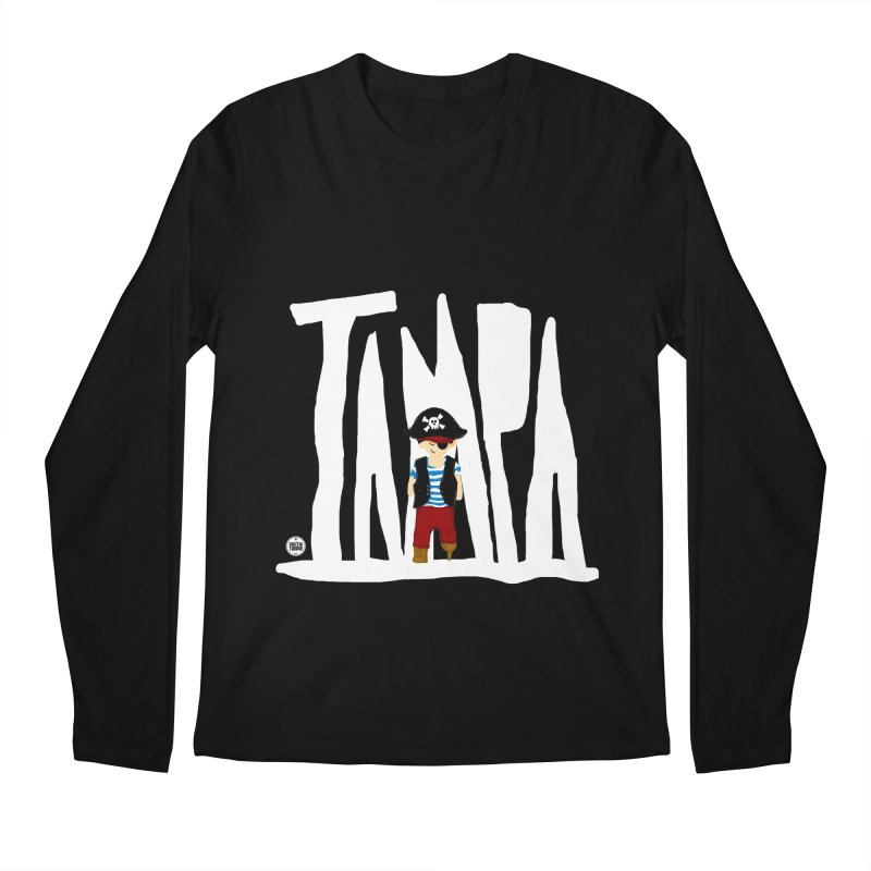 The Tampa Pirate Men's Regular Longsleeve T-Shirt by thatssotampa's Artist Shop
