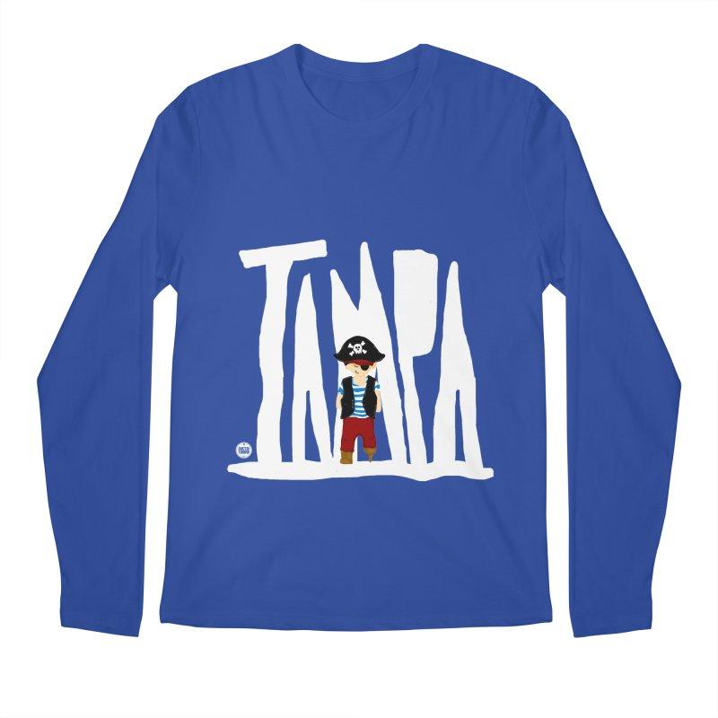 The Tampa Pirate Men's Regular Longsleeve T-Shirt by thatssotampa's Artist Shop