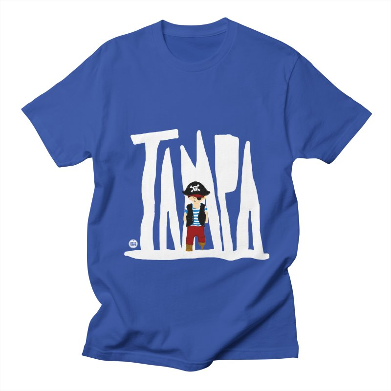 The Tampa Pirate Women's Regular Unisex T-Shirt by thatssotampa's Artist Shop
